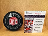 Tomáš Tatar Puck signed Game Hockey Puck JSA COA #R83233
