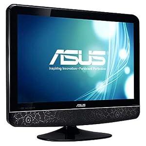 ASUS 24T1EH, Monitor TV LED risoluzione FullHd (1920 x 1080P), 2x 7W Speacker, completa dotazione di porte I/O 2x HDMI, SCART, component, composito, s-video, D-sub, PC audio-in, RCA audio-in e S/PDIF - 3 anni di garanzia
