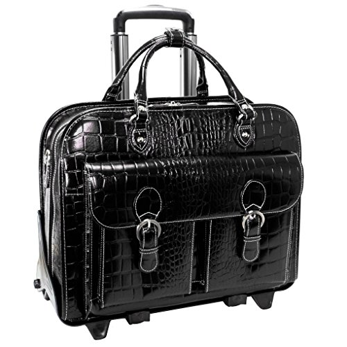 Siamod-SAN-MARTINO-Ladies-Detachable-Wheeled-Briefcase-15-Laptop-Business-Case