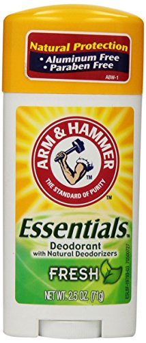Arm & Hammer Essentials Natural Deodorant, Fresh, 2.5 Oz. front-409129