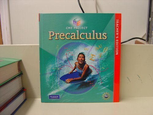 CME Project Precalculus (Teacher's Edition)
