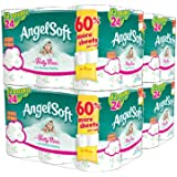 Angel Soft Bath Tissue, Double Rolls, Prints, 48 Count