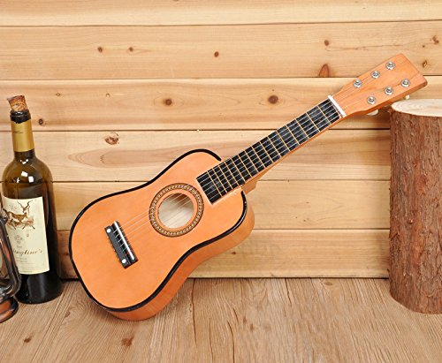 E Support™ Kid's 6 Strings 21inch Ukulele Wooden Acoustic Guitar Musical Instruments Toys for Beginners