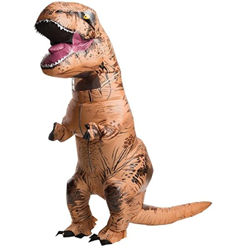 Sinma【Tyrannosaurus Costume】 Halloween Fancy Dress Costume Lifelike Inflatable T-Rex Costume (Ride A Unicorn Costume)