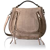Rebecca Minkoff Vanity Saddle Bag, Mushroom