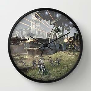 Custom Art Design Wall Decor Clock Titanfall