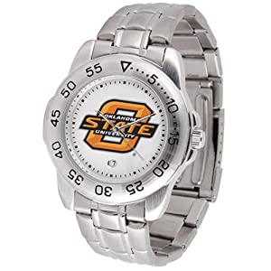 Oklahoma State Cowboys NCAA Sport Mens Watch (Metal Band) by SunTime