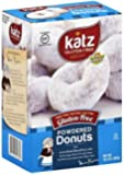 Katz Gluten Free Powdered Donuts, 10.5 Ounce, Certified Gluten Free - Kosher - Dairy, Nut & Soy free - (Pack of 1)