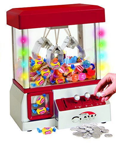 Electronic Claw Toy Grabber Machine With LED Lights (Candy Crane Machine compare prices)