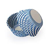 Dress My Cupcake Standard Pisa Blue Cupcake Liners BULK - 500 Liners - Boy Cupcake Wrappers Muffin Cups Stands and Towers