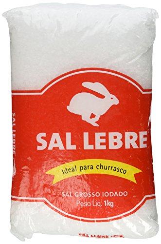 Lebre - Barbecue Salt - 35.27 oz. (PACK OF 02) | Sal p/ Churrasco - 1kg (Bbq Salt compare prices)