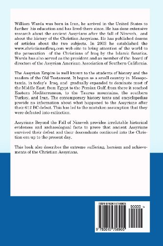 Assyrians Beyond the Fall of Nineveh: A 2,624 Years Journey