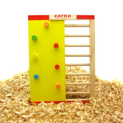 Alfie Pet Small Animal Playground - Jami Wooden Playgym (Toy For Mouse And Dwarf Hamster) front-899613