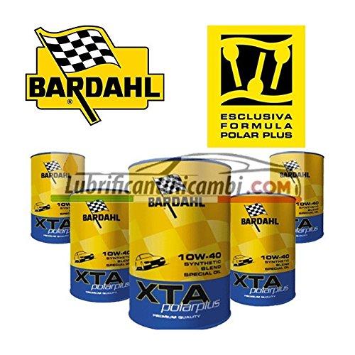 Olio-Motore-Auto-Bardahl-XTA-PolarPlus-10w40-Sintetico-Offerta-5-Litri-Portachiavi-Ufficiale-Scuderia-Ferrari