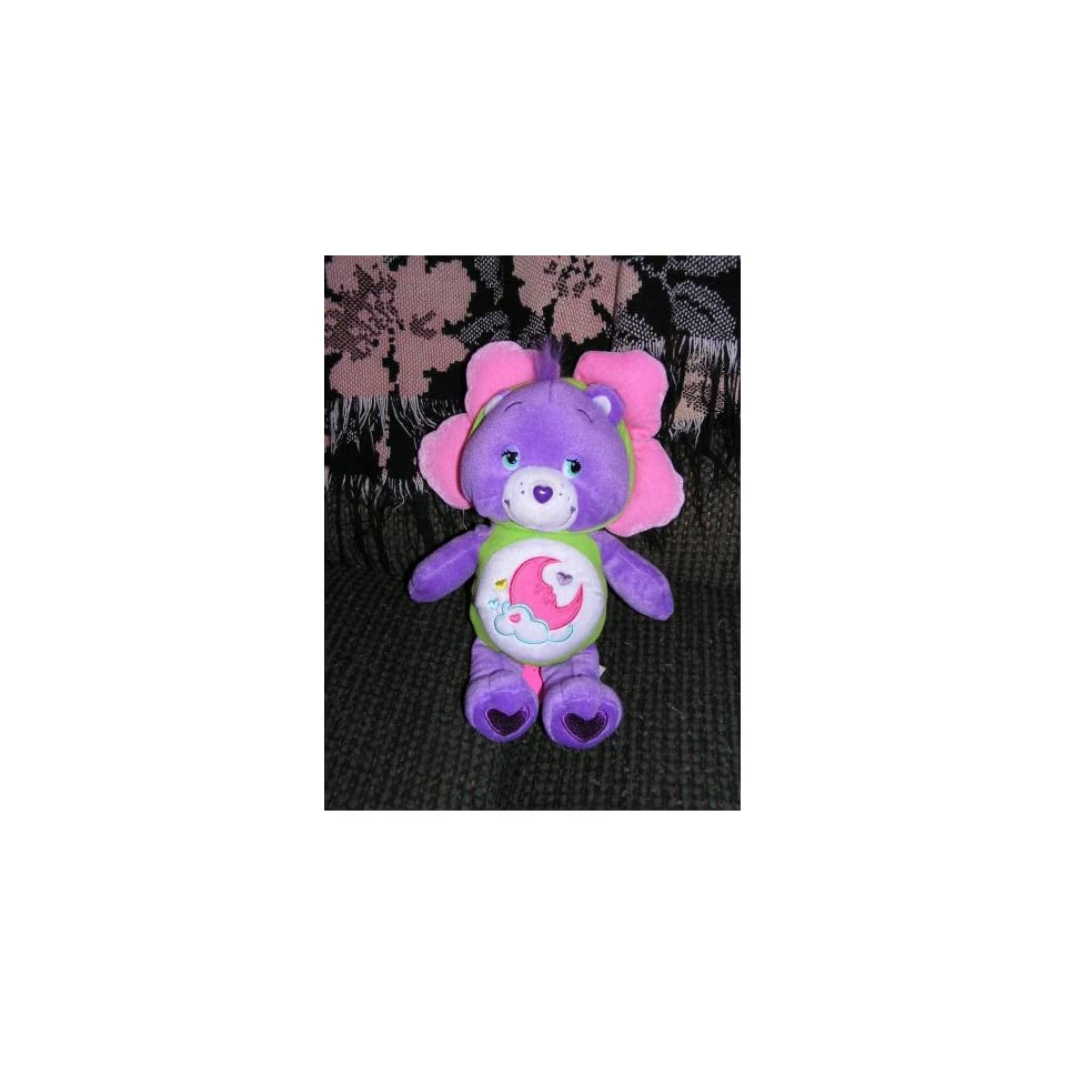 Care Bears Plush 10 Sweet Dreams Bear in Flower Outfit