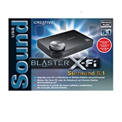 Creative SoundBlaster X-Fi Surround 5.1 USB Soundkarte extern