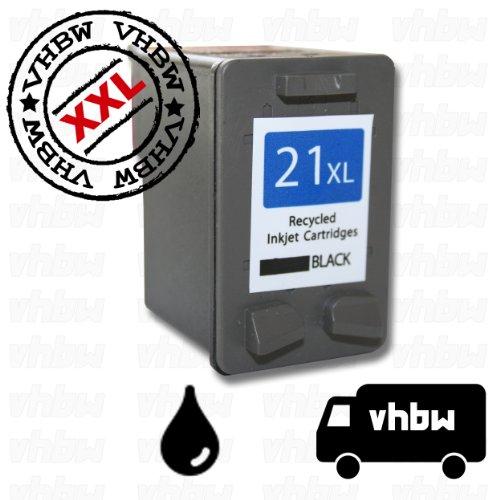 TINTENPATRONE DRUCKERPATRONE schwarz REFILL für HP NR.21 C9351ae für HP Deskjet D1311, D1320, D1338, D1341 etc.