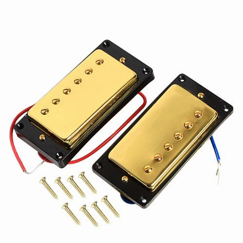 1Set Humbucker Pickup Gold For Gibson Les Paul Replacement
