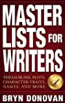 MASTER LISTS FOR WRITERS: Thesauruses...