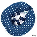 Puppy Bumper - Keep Your Dog on the Safe Side of the Fence - Navy Dot - up to 10""