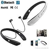 BM170 Necklace Ring Collar Wireless Headset Sport Neckband In-ear Wireless Bluetooth Stereo Earphone Headphone... - B01L7PI0LW