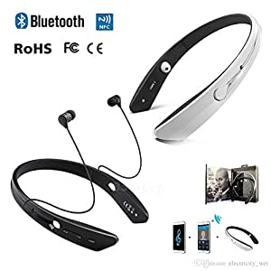 BM170 Necklace Ring Collar Wireless Headset Sport Neckband In-ear Wireless Bluetooth Stereo Earphone Headphone(2 Year warranty) Compatible with Datawind PocketSurfer3G5
