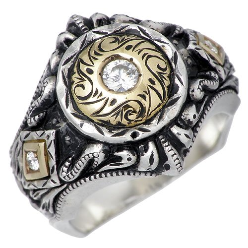 DICKY & GRANDMASTER ディッキー&グランドマスター パンドゥーラ シルバー リング ダイヤ 指輪 DR-09-D-13