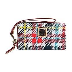 Dooney & Bourke Chatham Multi Color iPhone Tech Wallet White Multi