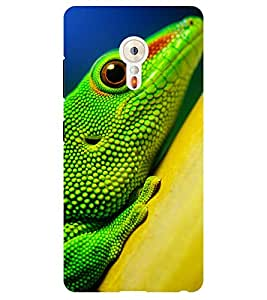 Chiraiyaa Designer Printed Premium Back Cover Case for Lenovo ZUK Z2 (lizard) (Multicolor)