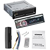 Krown CS-1101 Detachable Panel Car USB Player Stereo With FM And Aux-in Car Media Player