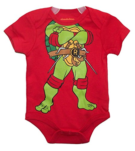 Nickelodeon TMNT Raphael Red Baby Boys' Bodysuit Dress Up Outfit