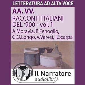 Racconti italiani del Novecento Hörbuch