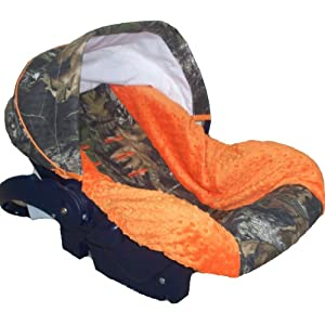 Orange Baby Car Seat Covers