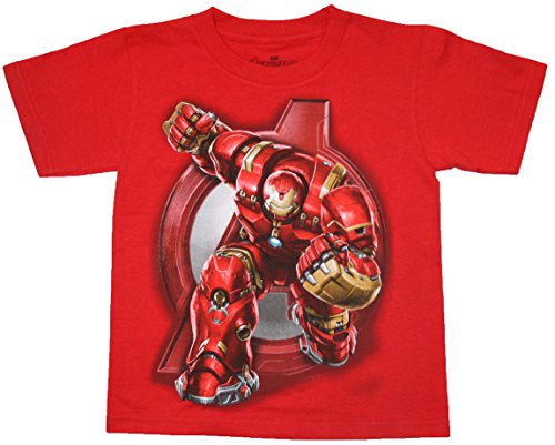 Avengers Age of Ultron Boys Iron Man T Shirt