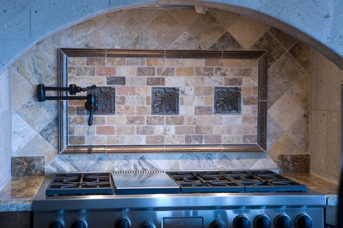scabos 2 x 4 tumbled travertine brick mosaic tile marble