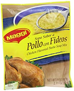 Maggi Chicken Noodle Soup Mix, 2.11-Ounce Packets (Pack of 48)