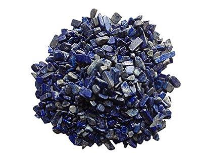 "Homankit Materials: 1/2lb Bulk Lapis Lazuli Tumbled Stones 11/4"" to 14/4"" Reiki Crystals Healing"