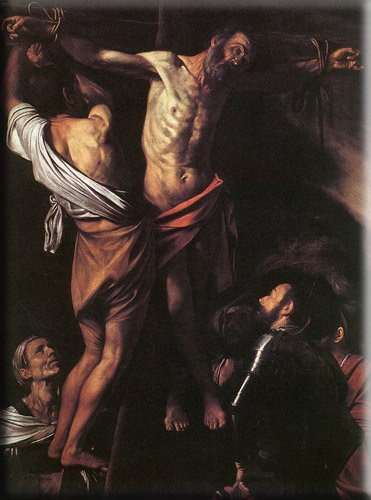 The Crucifixion of St. Andrew by Caravaggio