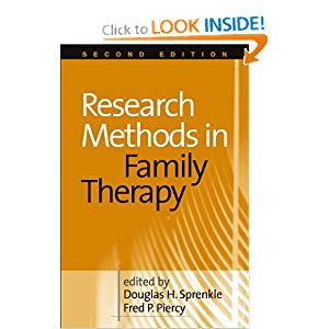 Research Methods in Family Therapy, Second Edition ...