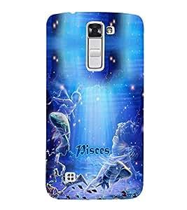 PRINTVISA Zodiac Pisces Case Cover for LG K10