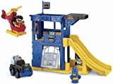 Fisher-Price Little People DC Super Friends Batcave Playset Children, Kids, Game