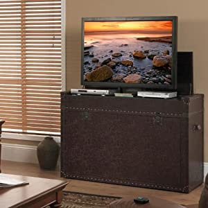 Amazon.com: Ellis Trunk TV Lift Cabinet: Furniture & Decor