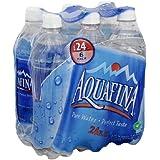 Aquafina Pure Water, 24 Fl Oz (Pack of 6)