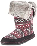 Woolrich Women's Hawthorn Moccasin,Ruby Knit,X-Large/9.5-10 M US - Womens Shoes