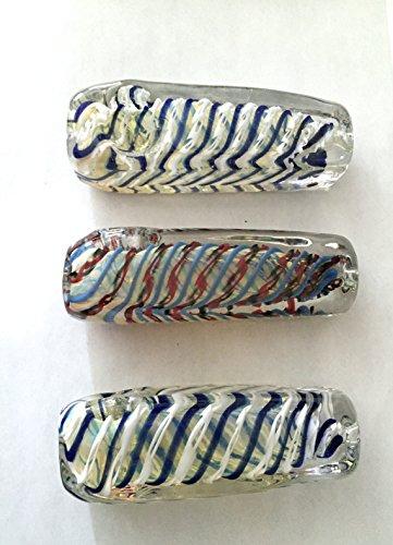 Handmade-Boro-Parallel-Galaxy-3-Spoon-Centerpiece-Statue-Immutable-Colors-Vintage