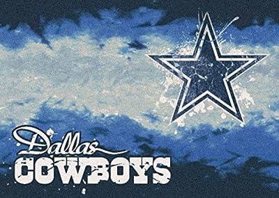 Milliken Dallas Cowboys NFL Team Fade Area Rug