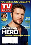 TV Guide Magazine November 7-20 2016 Double Issue | American Hero, Ryan Phillippe