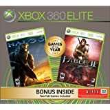 Xbox 360 Elite Halo 3 Fable 2 Bundle ~ Microsoft