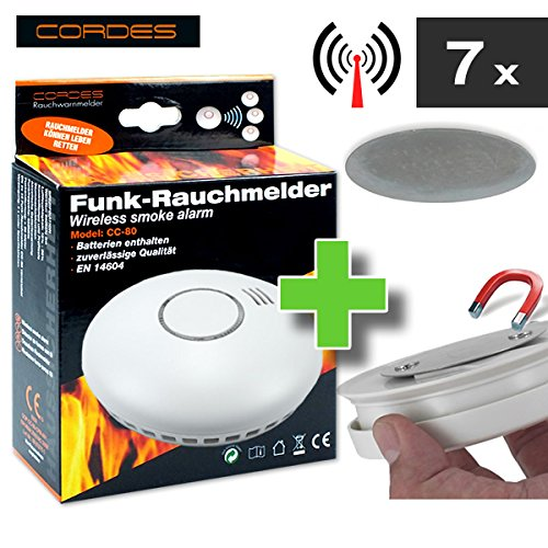 Get Cheap Style Wireless Smoke Detector Set of 7. CC 80Â Cordes with ...