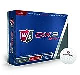 Wilson(ウイルソン) ウイルソン ゴルフボール ユニセックス DX3 SPIN ホワイト ディンプル:302